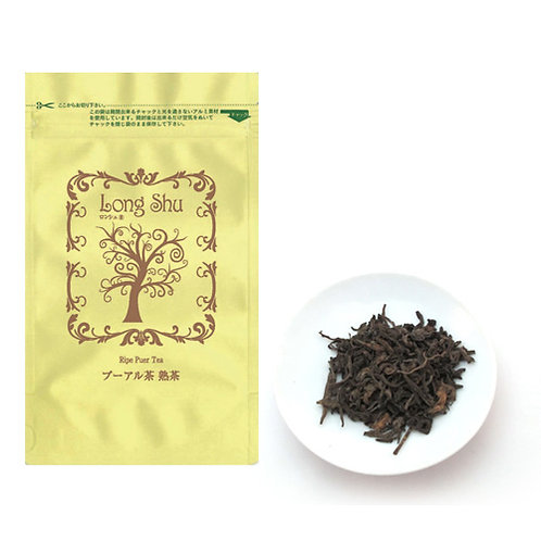 LongShu ドアン古樹プーアル熟茶 2020