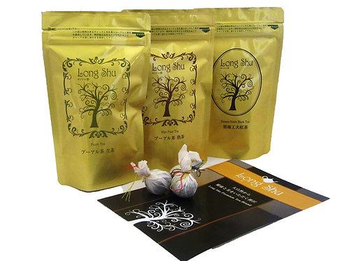 LongShu ドアン古樹茶シリーズ ギフトセット