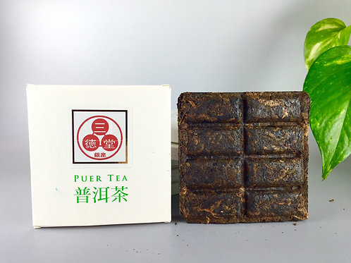 三徳堂オリジナル古樹プーアル熟砖茶 50g