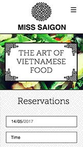 See All Templates website templates – Vietnamese Restaurant