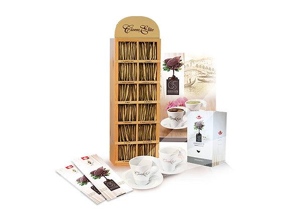 Kit promozione 420 bustine assortite di cioccolata fondente