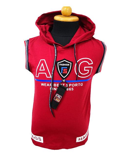 Boys sleeveless hoodie
