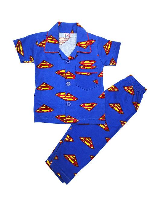 Boys superman nightsuit
