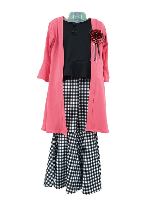 Girls dress with coat