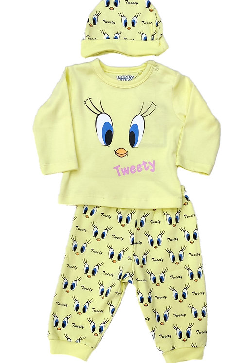 Tweety pyjama suit