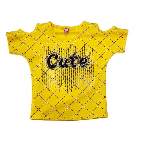 Girls 'Cute' top