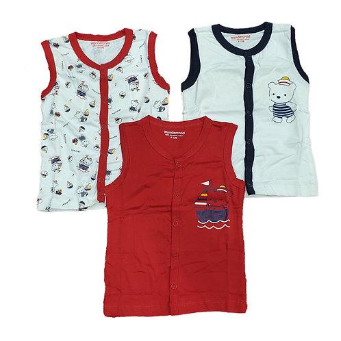 3pcs vest set