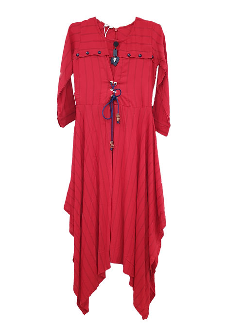 Girls red tunic