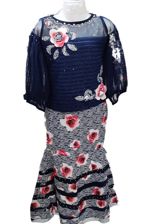 Girls fishcut dress