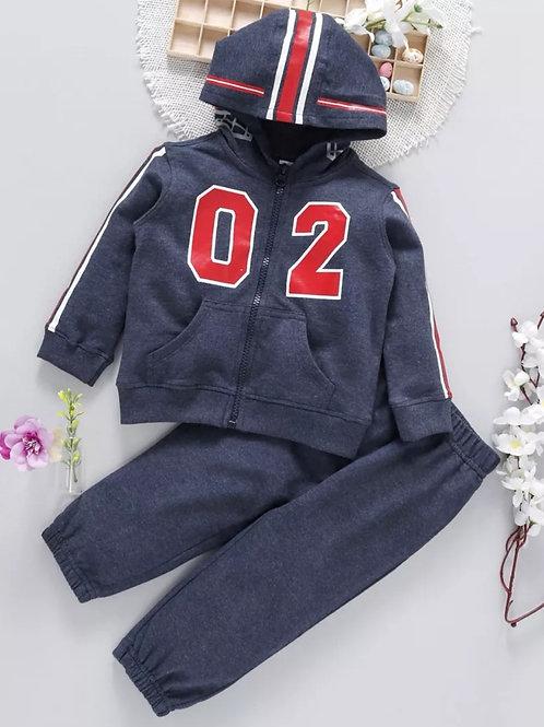 Boys jacket set