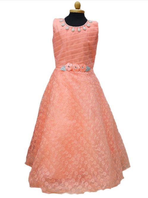 Girls partywear dress