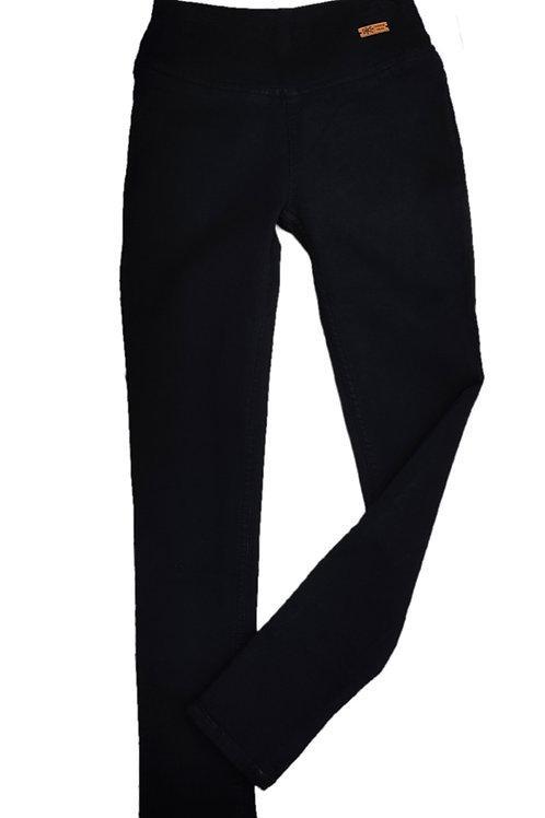 Black ribbed jeans