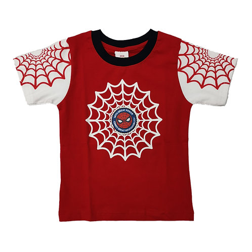 Boys spiderman tshirt