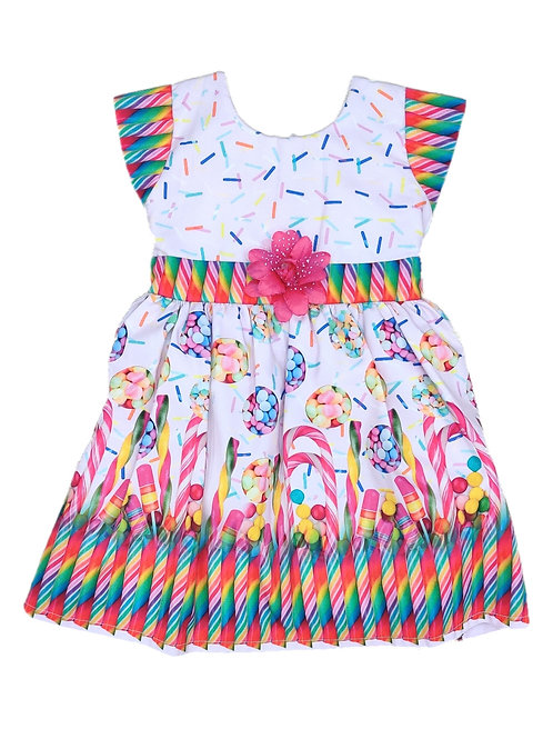 Girls candy frock