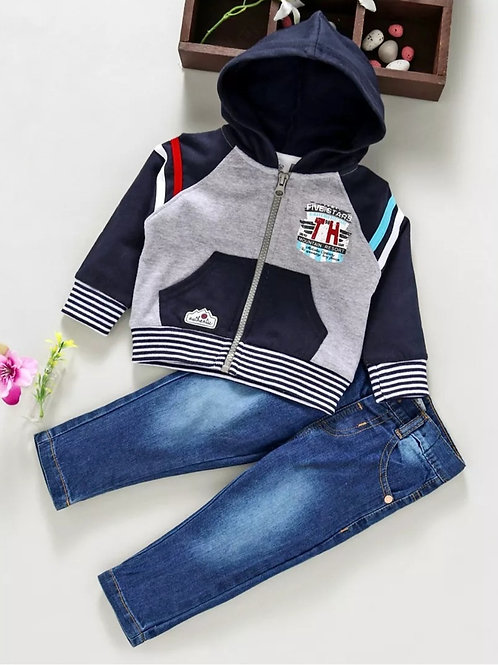 Boys jacket set