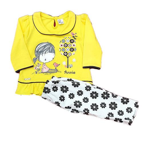 Girls pyjama suit
