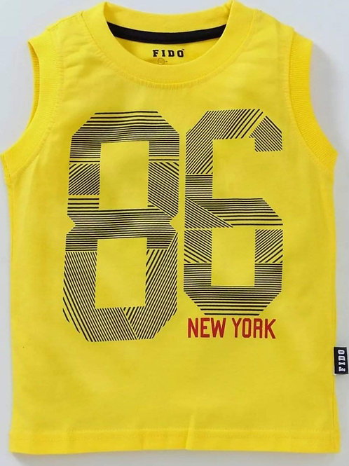 Boys sleeveless