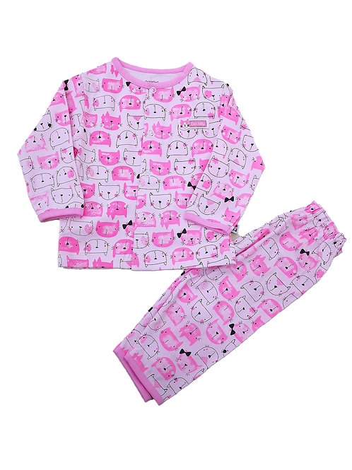Girls pyjama suit
