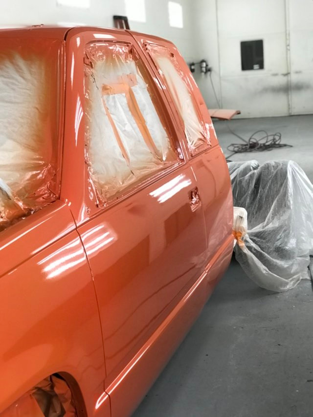 Custom paint job