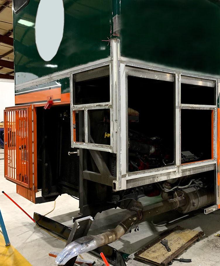 Trolley repair project