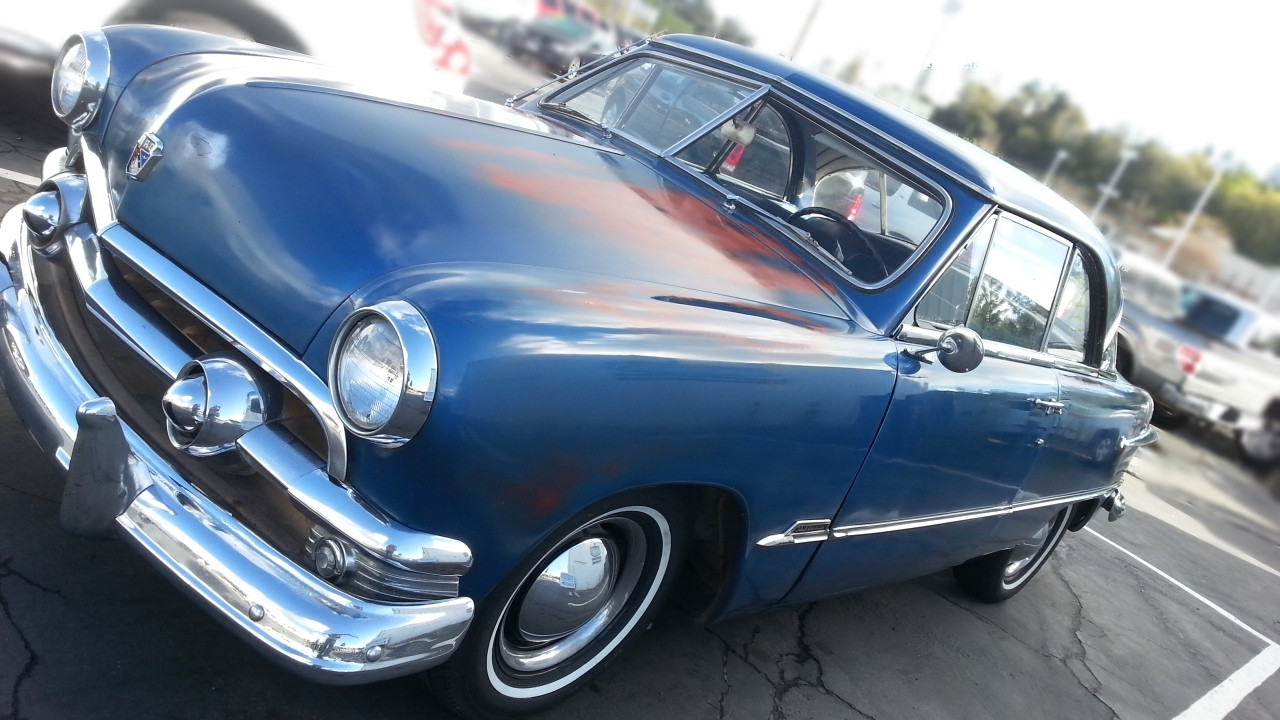 Patina 50's Ford