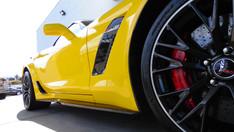 Yellow Corvette
