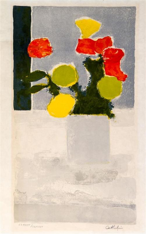 Cathelin - Vase of Flowers