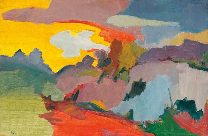 Boris Chetkov, Landscape, 1972
