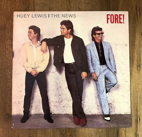 "Huey Lewis & the News ""FORE!"""