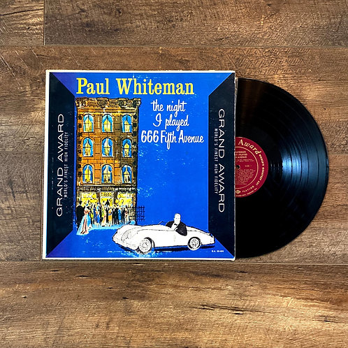 """Paul Whiteman """"The Night I Played 666 Fifth Avenue"""""""