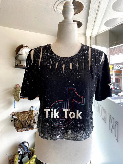 Refashioned TikTok Crop Top