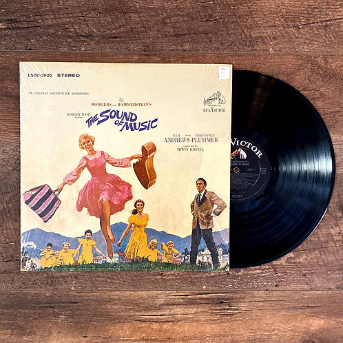 "Rogers & Hammerstein's ""The Sound of Music""original soundtrack and album storybo"