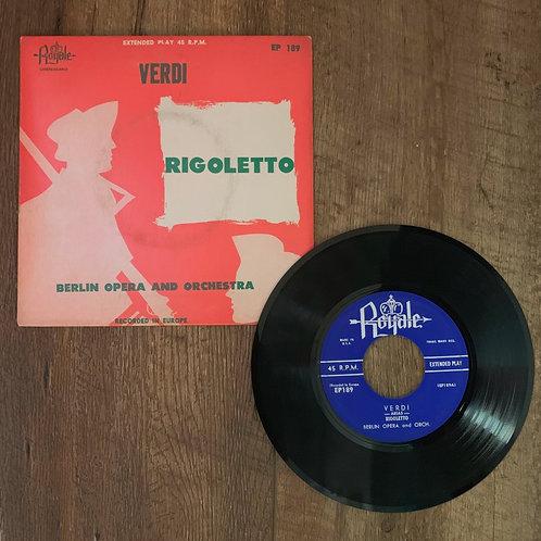 "Verdi "" Rigoletto"""