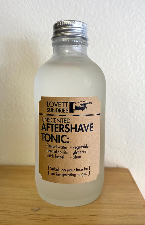 Unscented Aftershave Tonic