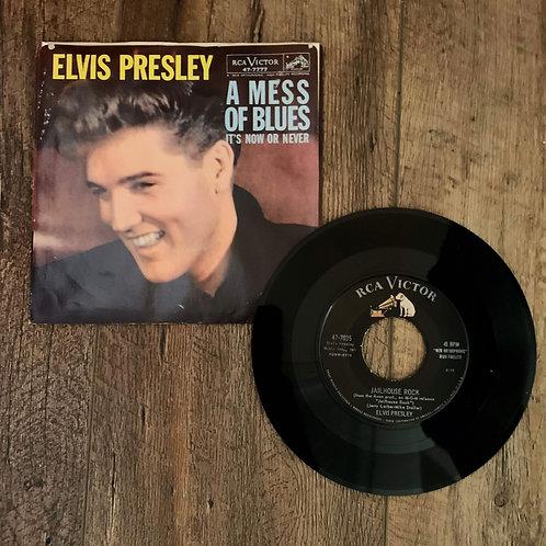 """Elvis Presley """"Jailhouse Rock/Treat Me Nice"""""""