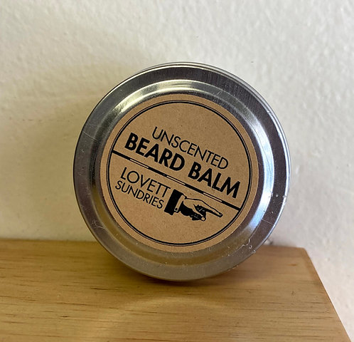 Unscented Beard Balm