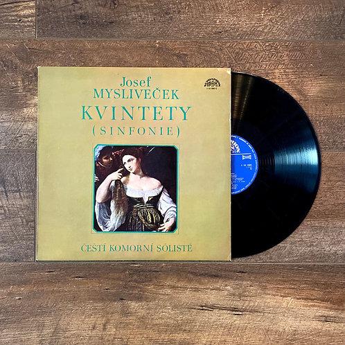 """Josef Myslivecek """"Kvintety Sinfonie"""""""