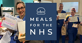 Help buy meals for the NHS staff fighting COVID-19, who are working 18+ hour shifts and faced shut canteens and empty supermarkets.