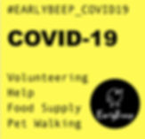 Install for volunteers to organise, request and provide help locally, based on location.