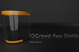 You can volunteer and donate to help produce face shields by 3D printing, for frontline staff.