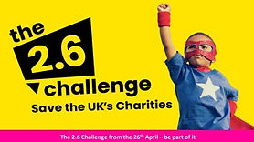 Do the 2.6 Challenge to help save the UK's charities. The 2.6 Challenge can be any activity you like check the website for inspiration.