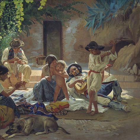 Gitanos españoles por Sorokin