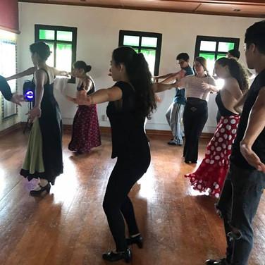 Clases de baile flamenco Lina Ravines