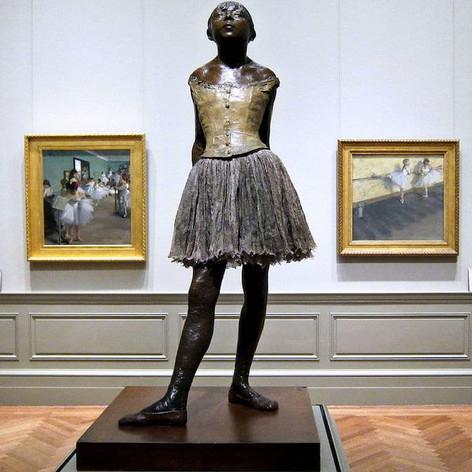 La pequeña Bailarina de Edgar Degas