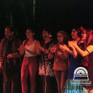 Clase de cante flamenco
