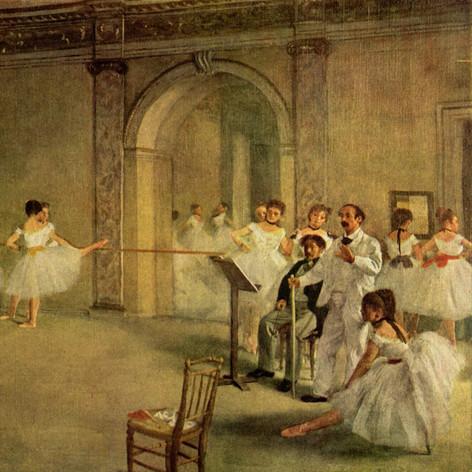 La clase de Danza de Edgar Germain Hilaire Degas