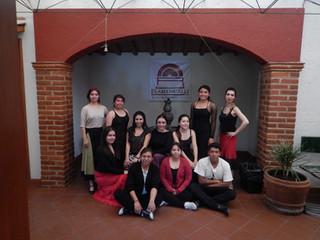 Alumnos en Flamencalli