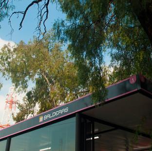 Metro Balderas.