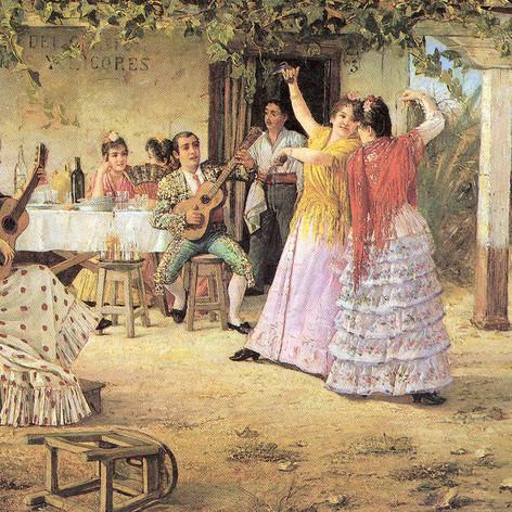 Tertulia andaluza  de José García y Ramos