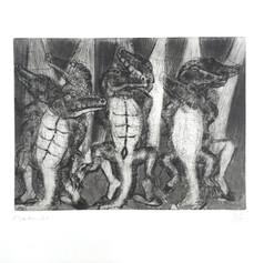 Francisco Toledo. Ocho cocodrilos bailando